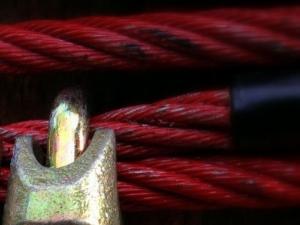 Barwione liny stalowe